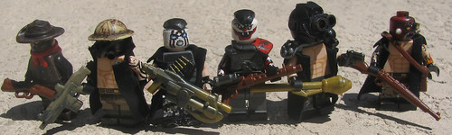 Custom minifig Bandits