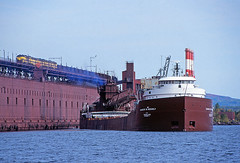 Beeghly at Taconite Harbor 1999 (Missabe Road) Tags: shipping lakesuperior f9 ironore taconiteharbor charlesmbeeghly ltvsmc