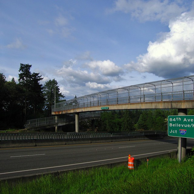 Old 520 Pedestrian Bridge - Medina WA