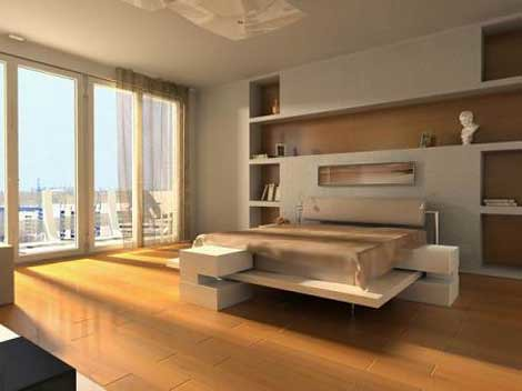 Modern Minimalist Bedroom Interior Inspiration / Home T