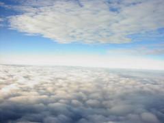 Oblivion (Prita Priscilla) Tags: trip blue sky clouds fun fly flying wings view air aeroplane oblivion