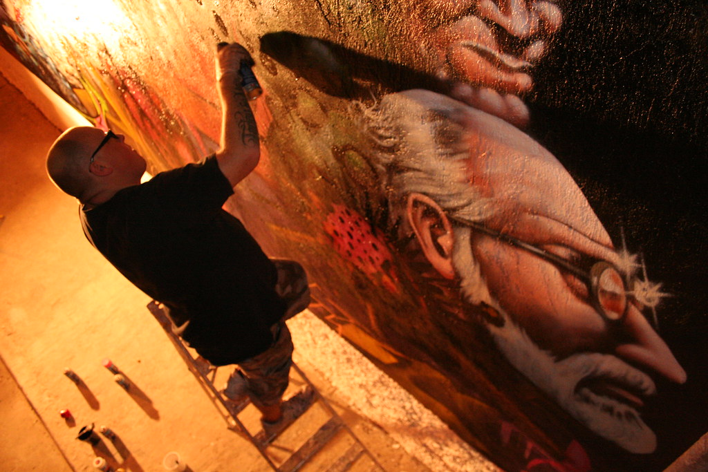 Seak painting in Mexico