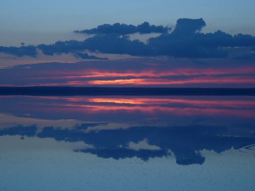 Tuz Gölü'nde gün batımı- Sunset at Salt Lake, Türkiye by ludingirra.