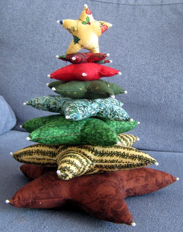 novedoso arbol de navidad httpfarm3staticflickrcom - Arbol De Navidad De Tela