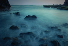 Whispering waves (eyecatcher) Tags: ocean blue sea seascape beach rocks whispering waves poseidonsdance