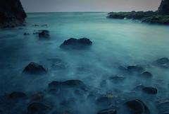 Whispering waves (eyecatcher) Tags: ocean blue sea seascape beach rocks whispering waves poseidonsdance