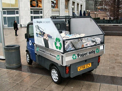 Mini Electric Recycling car