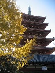 Asakusa Pagoda Tokyo