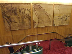 QE2 stairwell tapestry