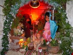 Pesebre con muñecos (Juan Ignacio La Civita) Tags: navidad raro pesebre