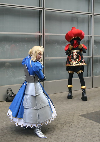 Fate stay night Saber Cosplay Fotos