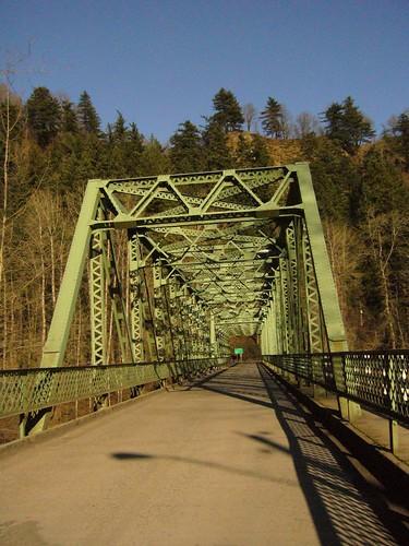 Bridge over the Sandy River