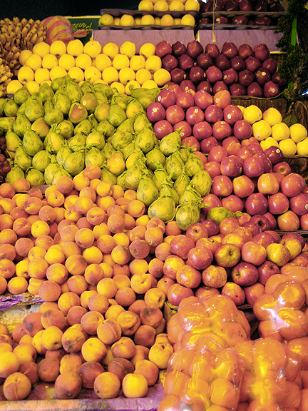 Fruit in Oaxacan Market