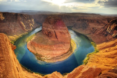 Horseshoe bend (Wolfgang Staudt) Tags: blue red arizona usa sun storm southwest water rock clouds wonderful river amazing nikon sandstone perfect colorado afternoon photographer desert bend nikond70 sigma tourist page coloradoriver sw navajo sunrays amerika reflexions lakepowell glencanyon lateafternoon the highway89 coloradoplateau wahweap glencanyonnationalrecreationarea horseshoebend blueribbonwinner abigfave wolfgangstaudt sigmaaf4561020dchsm platinumphoto anawesomeshot aplusphoto 66111 flickrdiamond superhearts touristphotographie fiveflickrfavs eyeofthephotographer