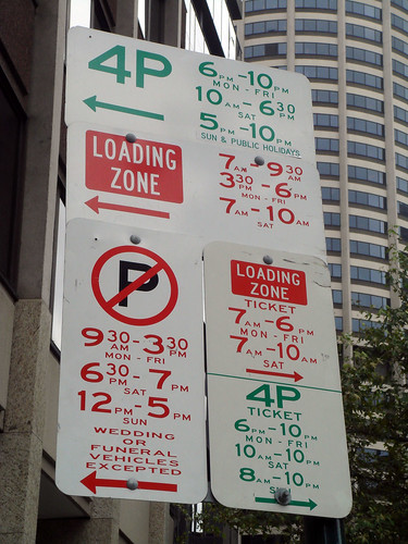 Parking Sign Madness