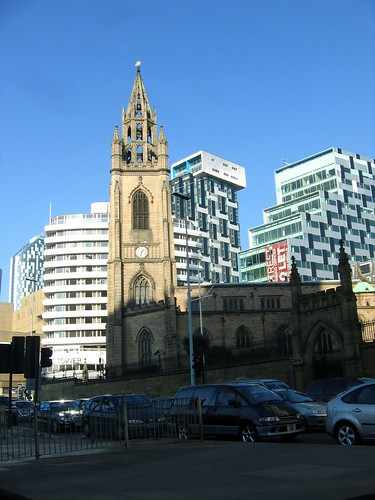 St Luke's Church and Unity Flats