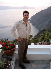 GR06 3051 Santorini (Templar1307) Tags: travel sunset me clouds island boat mediterranean ben indy 2006 santorini greece benjamin archipelago aegeansea ελλάδα 70000views σαντορίνη