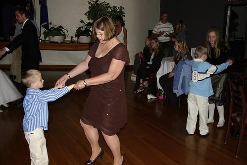 Mom & Seth dancing