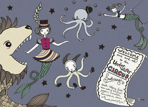 underwater circus