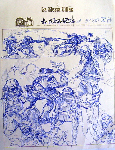 Wizards - Original Production Drawing #6