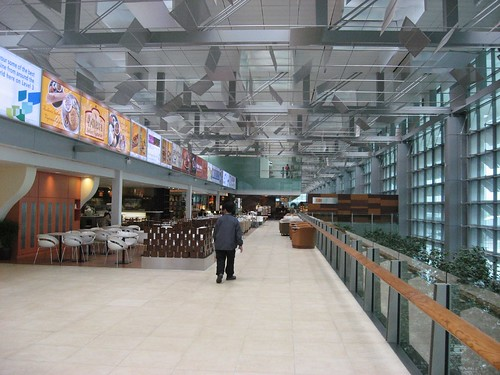 Array of eateries, including Kaveri @ T3 in Changi