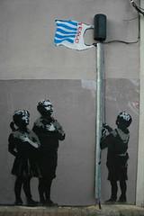 Banksy, Essex Road, Islington (G Travels) Tags: london banksy tesco pharmacy islington essexroad
