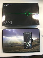 In box - Sony Ericsson K850i
