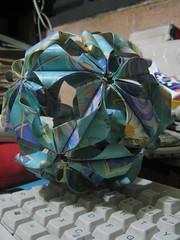 Arabesque (Meniana) Tags: origami arabesque kusudama