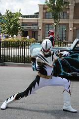 White Dino Thunder Ranger