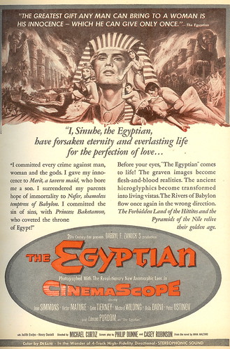 The Egyptian (1954) (by senses working overtime)