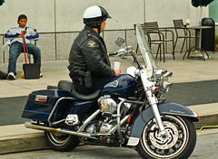 Road King (Lil Wally) Tags: atlanta ga helmet police harley cop motorcycle hd patrol roadking unlimitedphotos