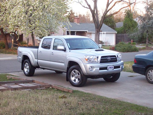 Our new Toyota Tacoma