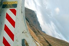 Swinging into the Highlands (korayatasoy) Tags: road uk trip lake mountains scotland highlands highway lowlands scottish swing hills caution loch lomond yol bulldozer scozia gl dalar buldozer a82 uyar iskoya trossarchs
