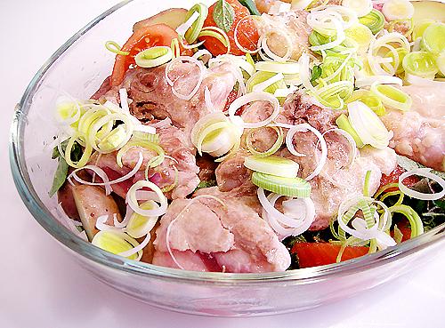Oregano 風味雞腿肉-080505