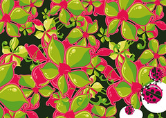FLOWER (Cristian Mantovani) Tags: flower digital design graphic fiori vector coccinelle vettoriale