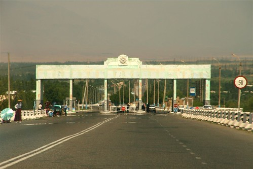 One of the numerous Uzbek checkpoints by DDPN.net.