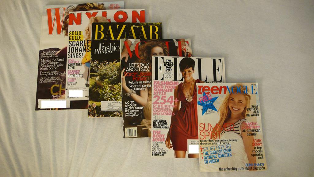 5.31 fashion magazines