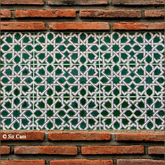 Andalucian patterns (Sir Cam) Tags: geometric spain patterns muslim andalucia arab moorish islamic salobrena costatropical sircam