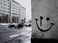 _MG_2715 (PavelKuzmichev) Tags: moscow ministry city russia churkin arbat министерство обороны иноструннах дел чуркин арбат жуков цой стена цоя smile улыбка улица street город