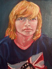 Rockerwere Ryan Portrait oil painting