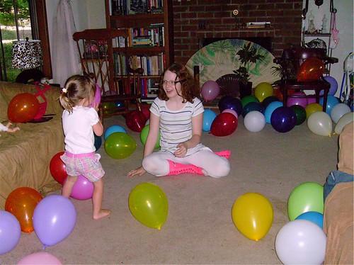 baloon explosion