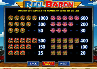 free Reel Baron slot mini symbol
