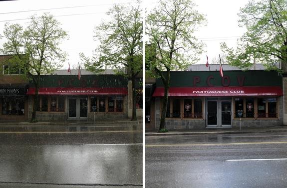 hail rain sunshine vancouver may 12