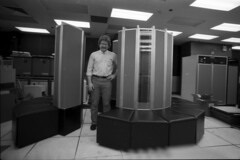 Cray Supercomputer Kevin Nolte @ GM Research (GMR) SN36 (kevinnolte) Tags: cray xmp