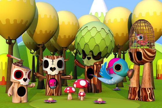 juguetes 3d