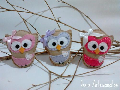 Trio de Corujinhas | Owl |