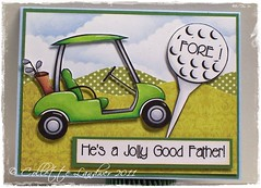 FORE! He's a Jolly Good Father!