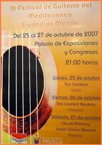 III festival de guitarra