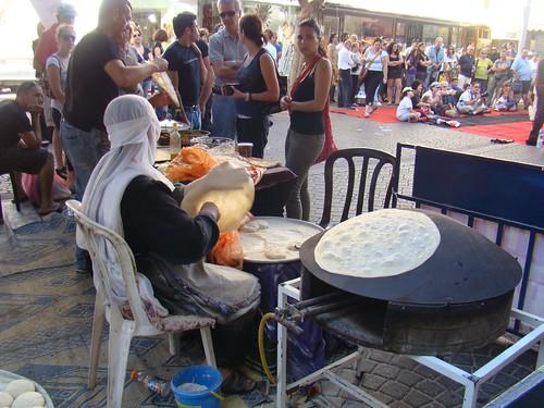 making druze pita