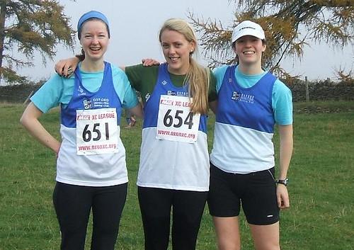 Amanda, Sian and Liz post-race